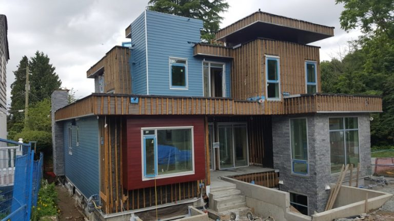 Combination of colors for siding projects