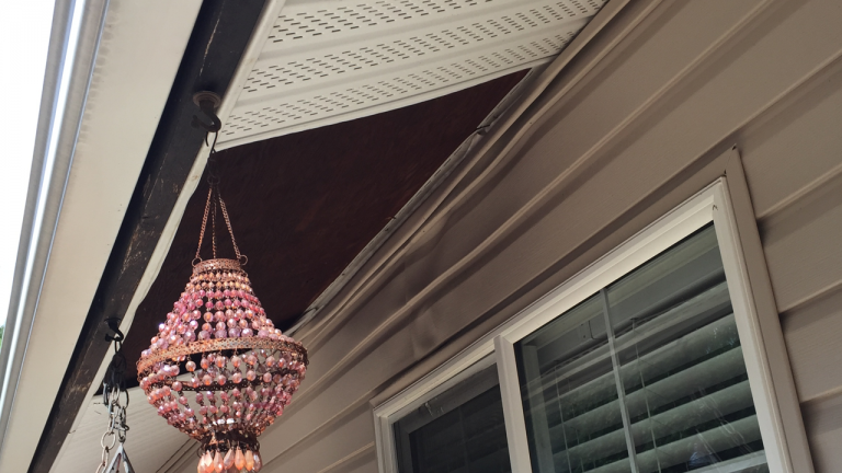 Barbeque grills can be the worst enemy for vinyl siding