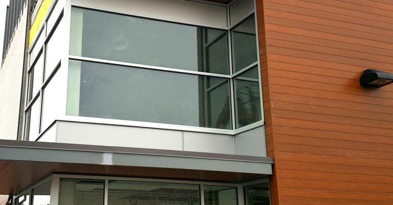 Aluminum panels installed by 8 Diamonds Siding